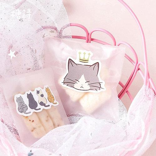 45pcs/Pack Playful Cats Cute Decorative Stickers