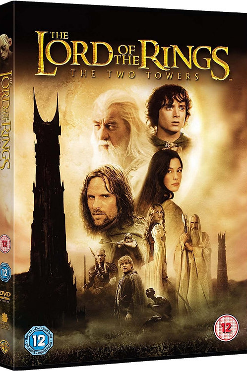 Movie Film Sale   DVD The Lord Of The Rings The Two Towers