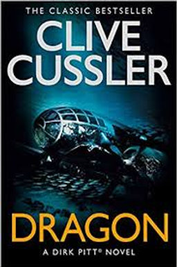 Clive Cussler Book Sale -Dragon refbx109