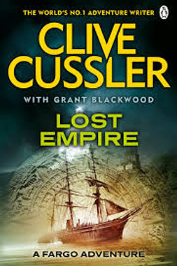 Clive Cussler Book Sale - The Lost Empire ref bx103