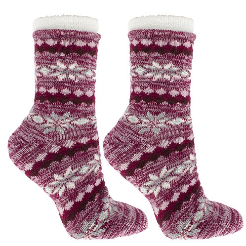 Women's Double Layer Aspen Eucalyptus Mint and Shea Butter Infused Socks