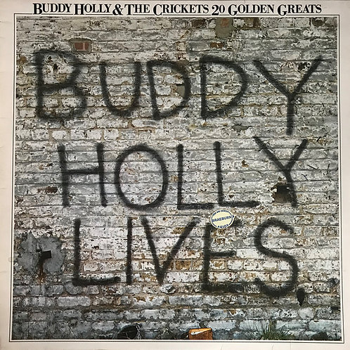 Buddy Holly and the Crickets 20 Golden Greats Vinyls Album