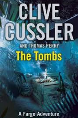 Clive Cussler Book Sale -The Tombs refbx1208