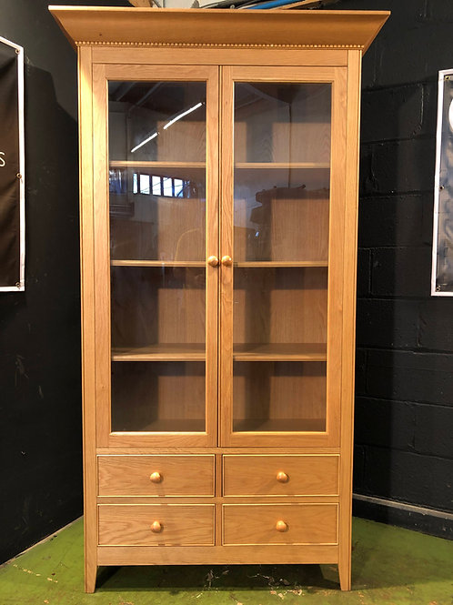 Marks and Spencers Litchfield Oak Glazed Bookcase
