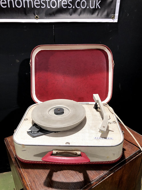 Vintage 1960's 1970's Fidelity Record Player