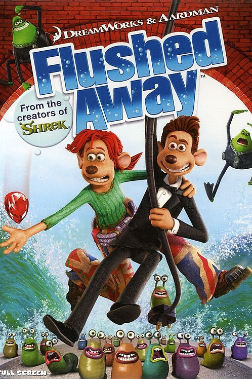 DVD Movie Film Sale | Flushed Away