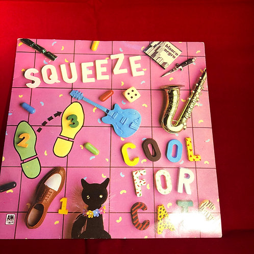 Squeeze Cool for Cats -  Single Vinyl 7""