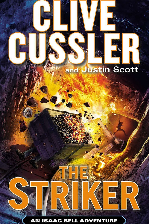 Clive Cussler Book Sale - The Striker Hardback refbx1205