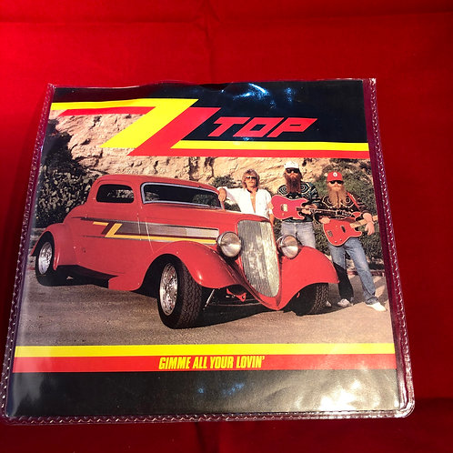 ZZ Top Gimme All Your Lovin -  Single Vinyl 7""