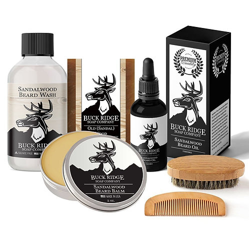 Beard and Body Care Gift Set מתנה לגבר שלך, ערכת טיפוח מהממת