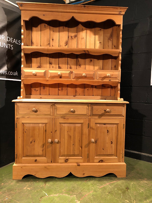 Country Farmhouse Waxed Pine Dresser Sideboard