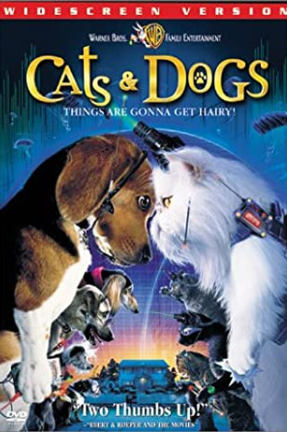 DVD Movie Film Sale | Cats and Dogs