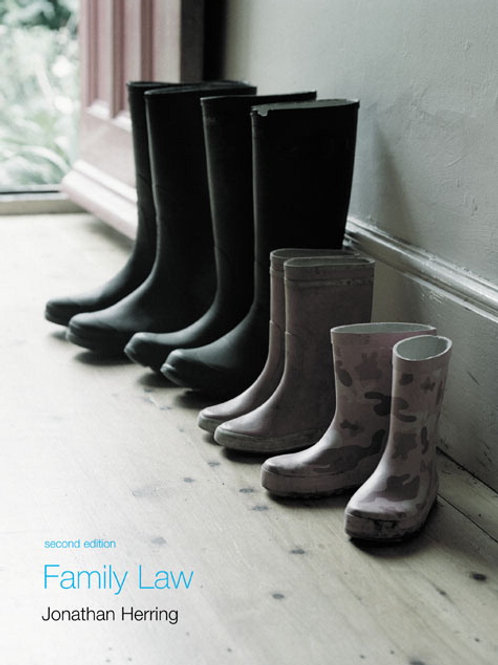 Family Law Jonathan Herring Second Edition