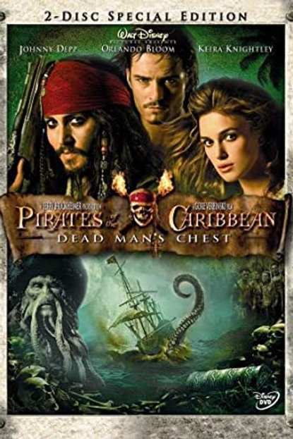 Movie Film Sale | DVD Pirates of the Caribbean Dead Mans Chest