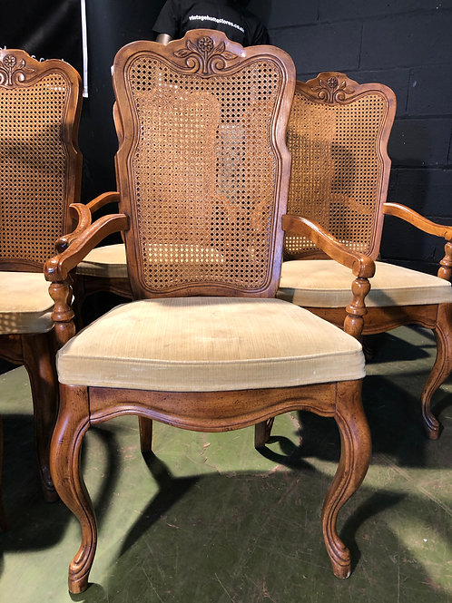French Louis Style Bergere Carver Chair (we have 6 available)