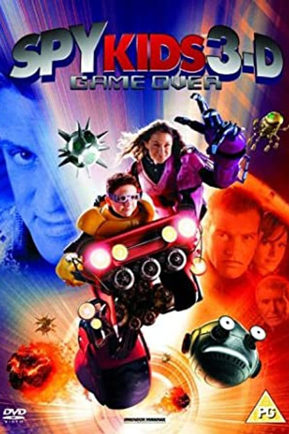 DVD Movie Film Sale | Spy Kids 3D Game Over