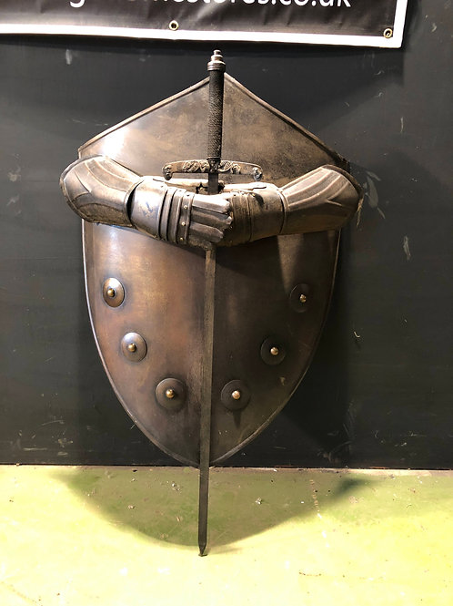 Medieval Style Wall Hanging Knights Shield