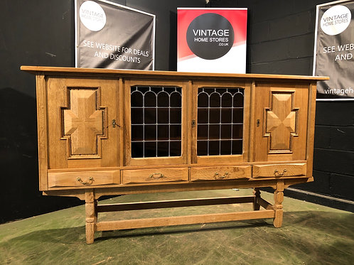 Fantastic Large French Oak Country Farmhouse Sideboard