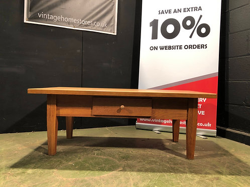 Barker and Stonehouse Solid Oak Coffee Table