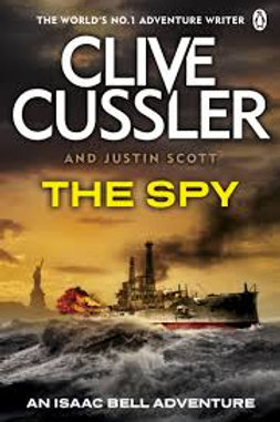 Clive Cussler Book Sale - The Spy  refbx1206
