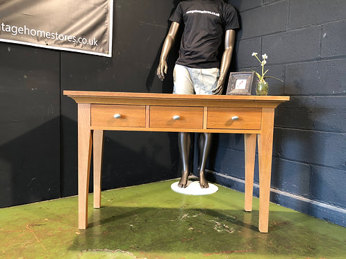 Barker and Stonehouse  Oak Console Table