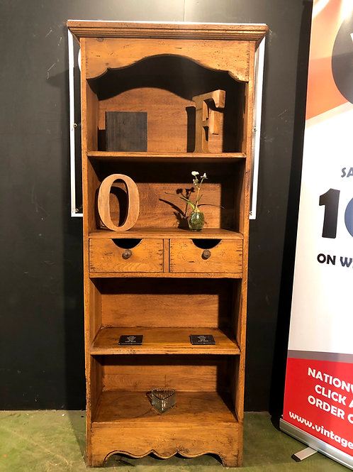 Barker and Stonehouse Antix French Oak Tall Bookcase