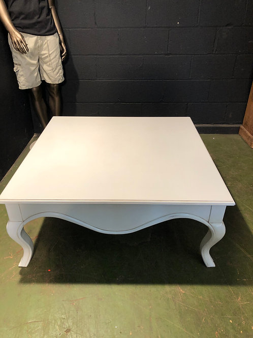 Super Large White Coffee Table - Ex Showhome Coach House