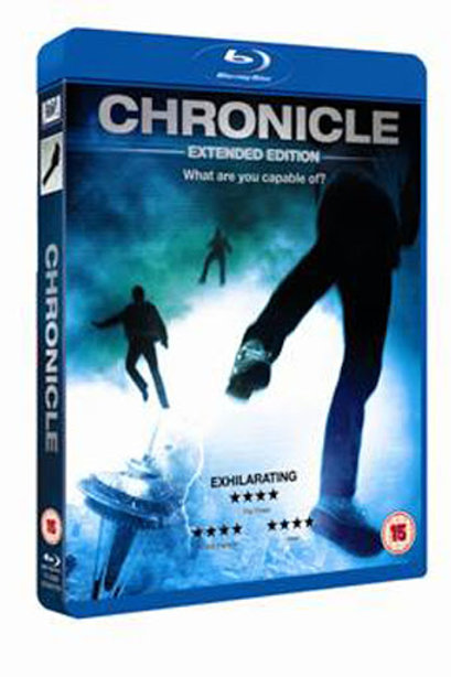 BLUE RAY Movie Film Sale | Chronicle