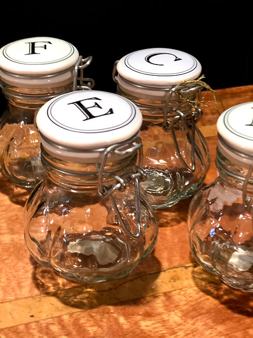Ex Showhome - Set of4 Storage Jars by Miss Etoile (bx142202)