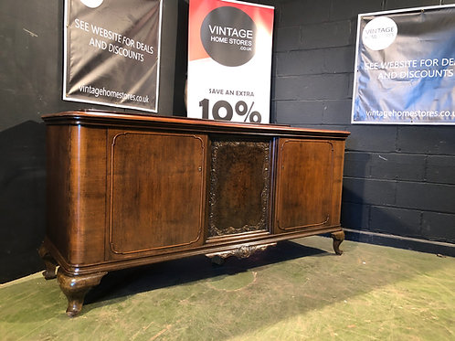 Large French Country Carved Sideboard