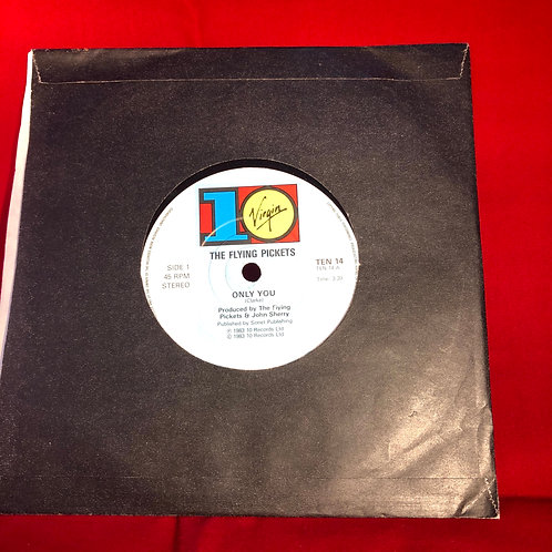 """The Flying Pickets Only You  -  Single Vinyl 7"""" Single"""