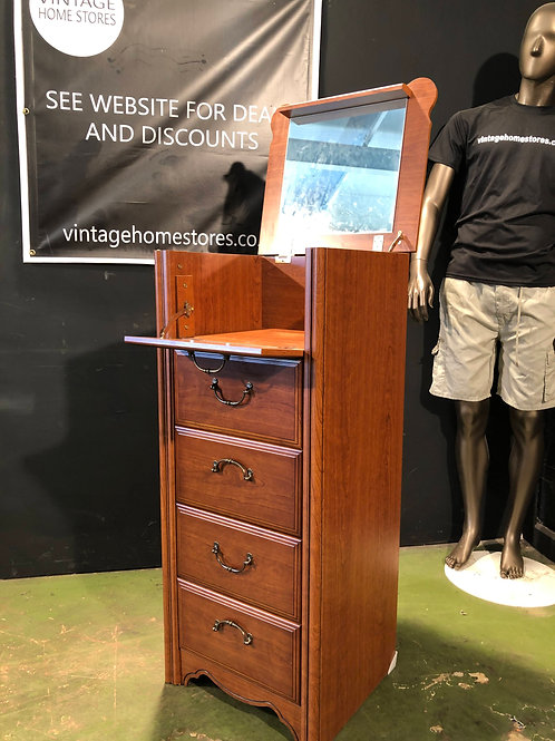 Super Tall Chest of Drawers Vanity Unit