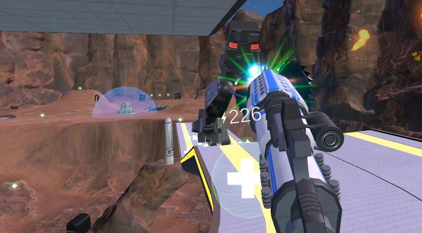 Shotgun Blast - VR