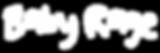Baby Rage Logo (Dark, transparent backgr