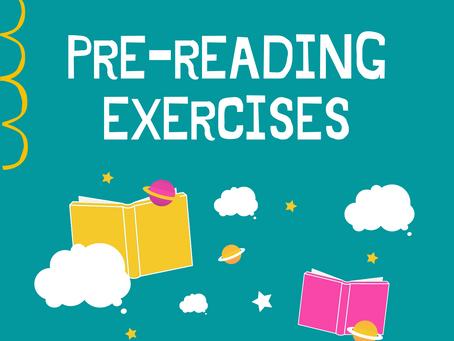 FREE   Pre-reading Exercises