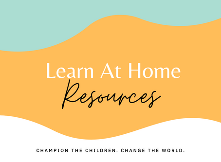 Free Home Learning Resources for Families with Young Children