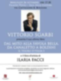 VITTORIO SGARBI e ILARIA FACCI_26 settem