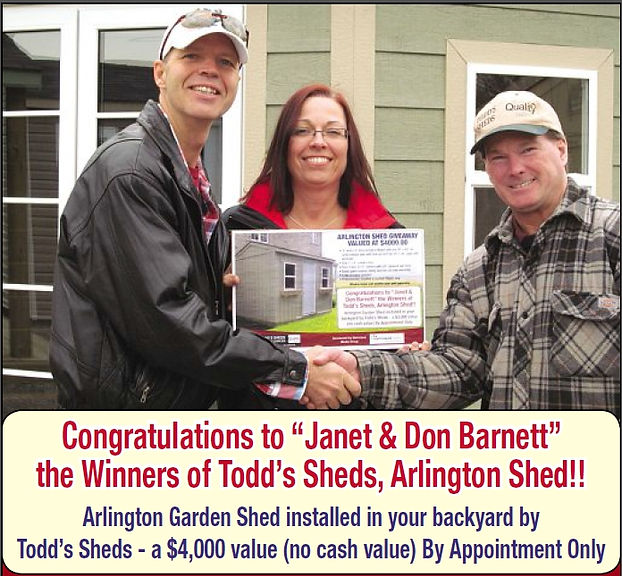 2014 Contest Winners Janet & Don Barnett