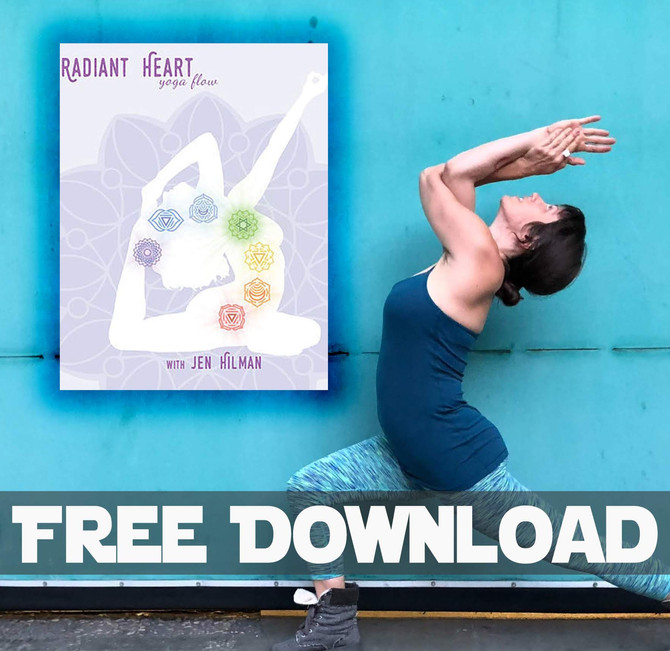 FREE Download - Radiant Heart Yoga Flow