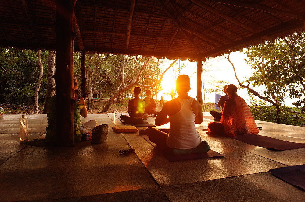 Jen Hilman First Yoga Class