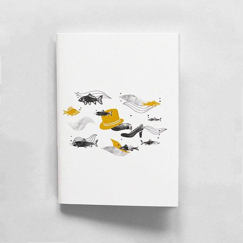 Notebook A6 The water spirit