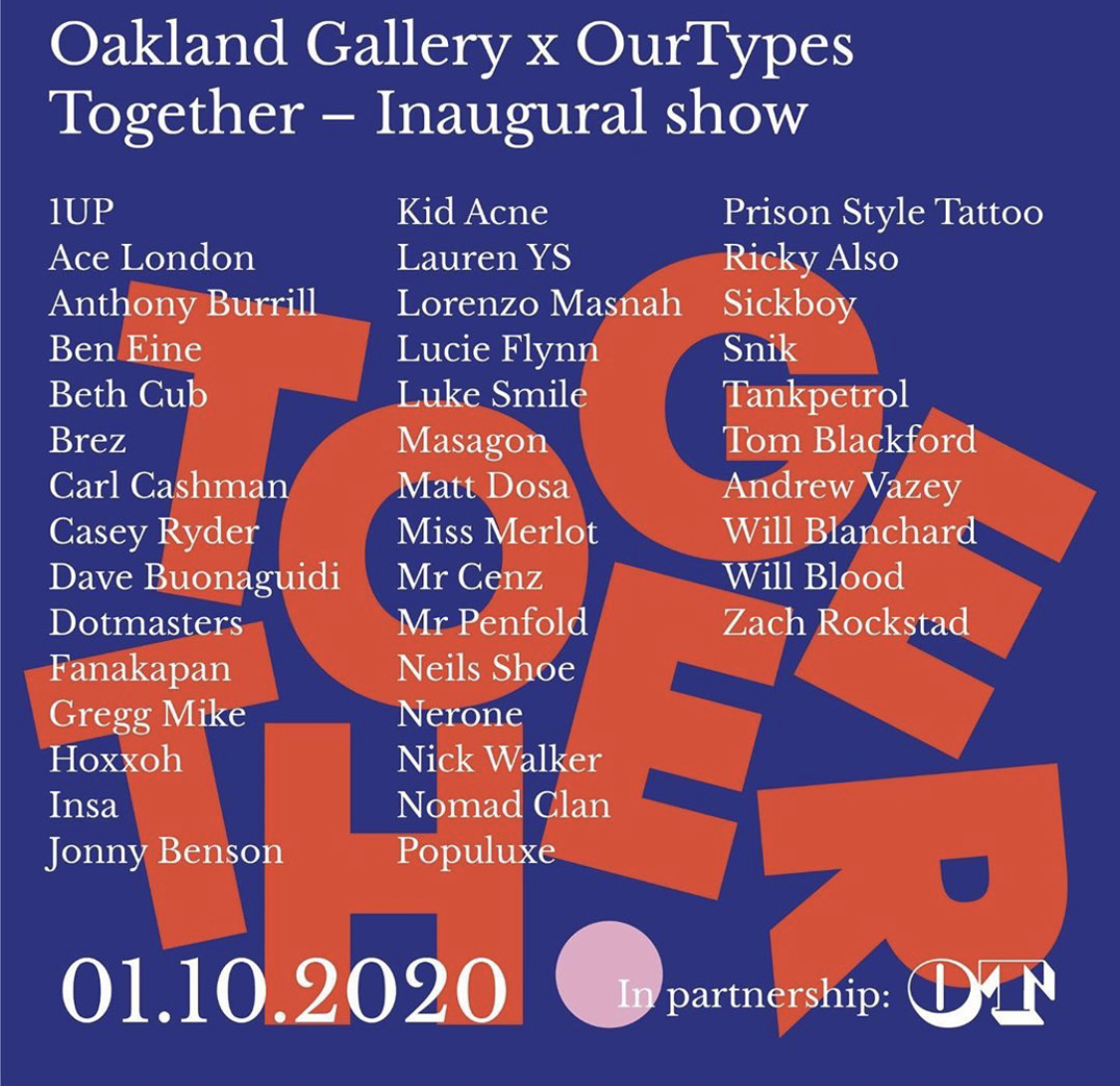 Oakland Gallery + Our Types