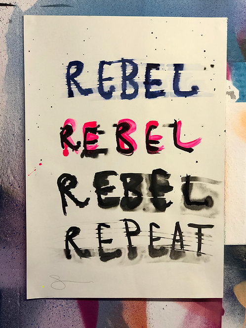 Rebel Rebel Repeat
