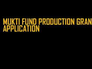 Mukti Fund Production Grant -- For Members of the Pride Youth Theater Alliance