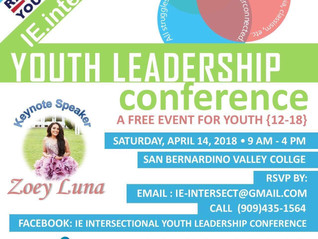 IE Intersectional Youth Leadership Conference
