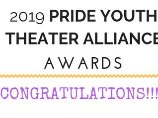 2019 PYTA Awards: WINNERS