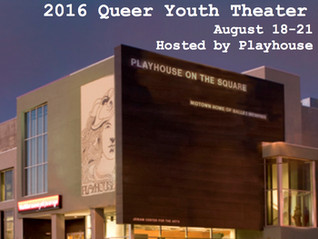 QUEER YOUTH THEATER CONFERENCE SAVE-THE-DATE