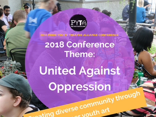 PRESS RELEASE:  Pride Youth Theater Alliance Gears Up for Annual Queer Youth Theater Conference