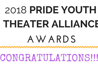 2018 PYTA Awards: WINNERS