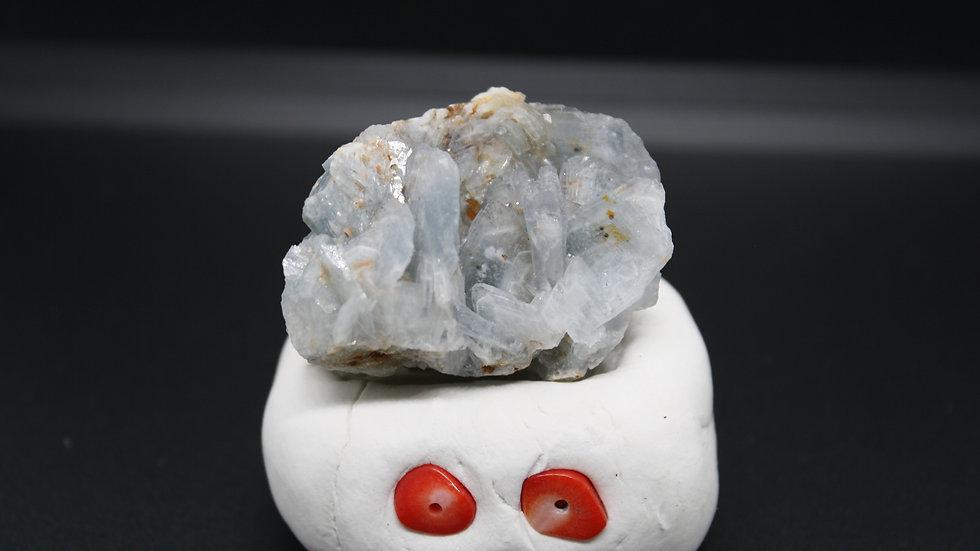 Blue Barite Crystal - Spain